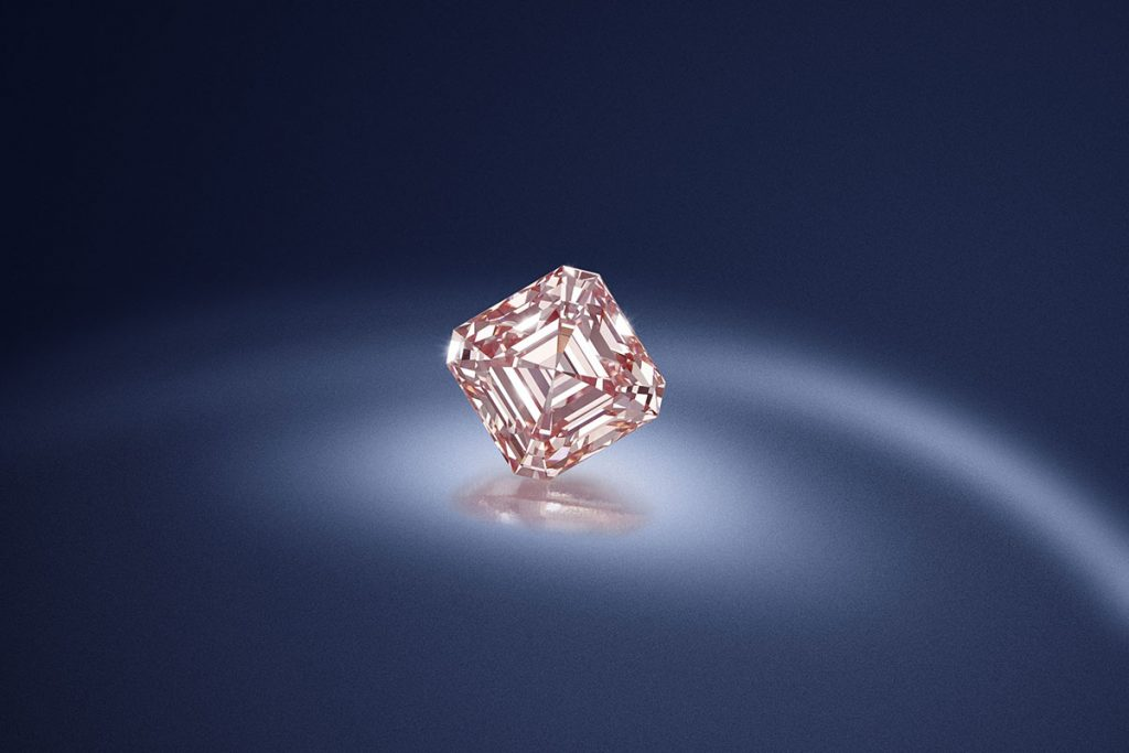Fancy Pink Diamond weighing 5.03 carats
