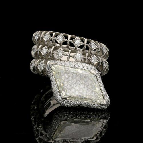 Diamond Back Ring
