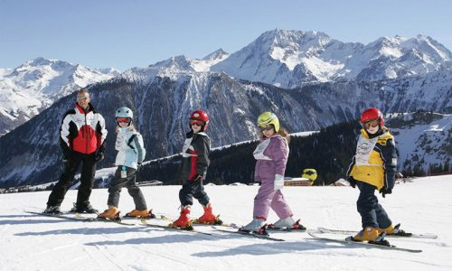 Meriski Meribel France Ski Holiday Resort - Families