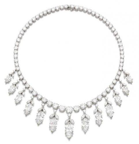 An important Van Cleef & Arpels diamond necklace – £875,000