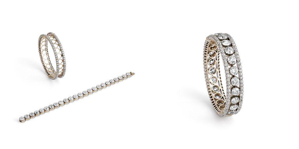 A Victorian old cut diamond bracelet – £165,000