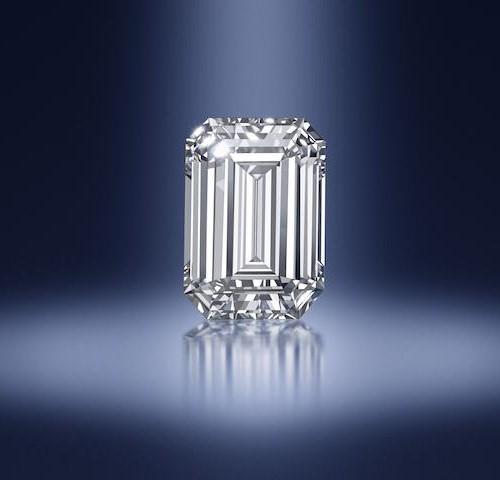 24.31 Carat Step-Cut Diamond Ring