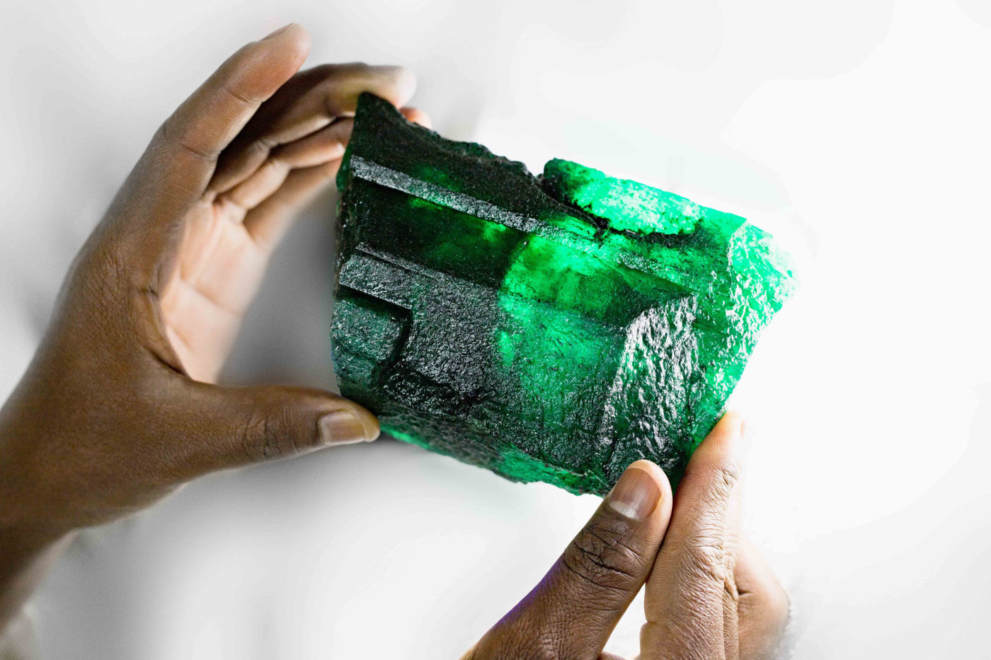 Gemfields Inkalamu Lion Emerald - Image 1