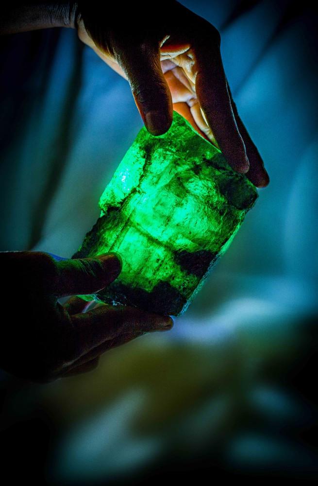 Gemfields Inkalamu Lion Emerald - Image 2