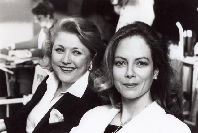Barbara Taylor Bradford and Jenny Seagrove