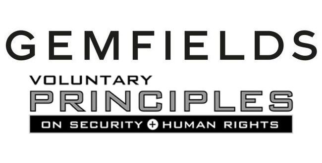 Gemfields Voluntary Principles Logo