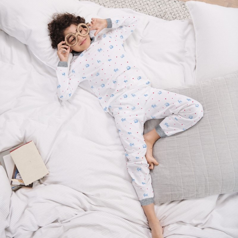 The Little White Company and Luxury Family Hotels Pyjama Set - Featured