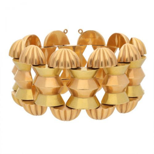 Retro Gold Bangle