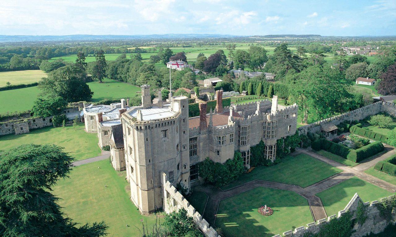 Thornbury Castle - Aerial View