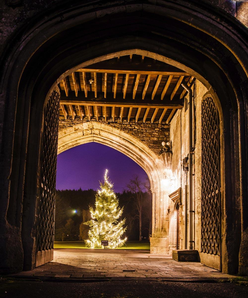 Thornbury Castle Christmas Tree